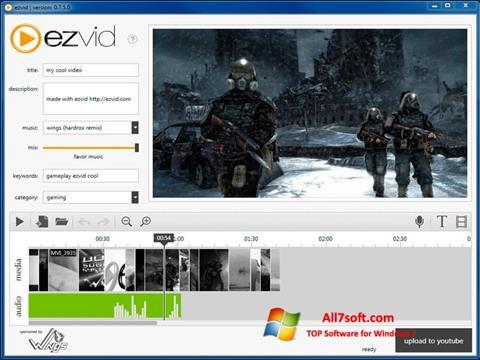 Skjermbilde Ezvid Windows 7
