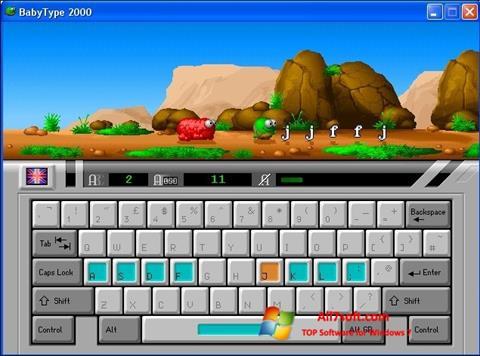 Skjermbilde BabyType Windows 7