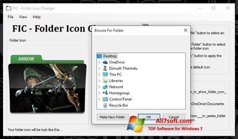 Skjermbilde Icon Changer Windows 7