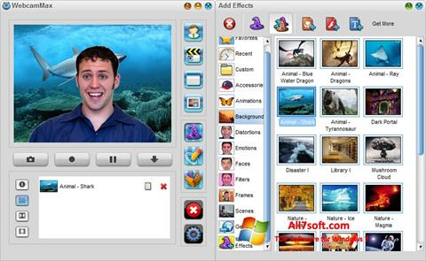 Skjermbilde WebcamMax Windows 7