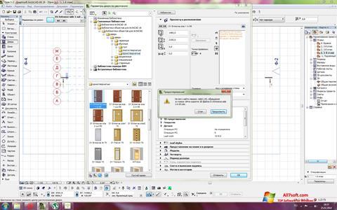 Skjermbilde ArchiCAD Windows 7