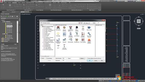 Skjermbilde AutoCAD Electrical Windows 7