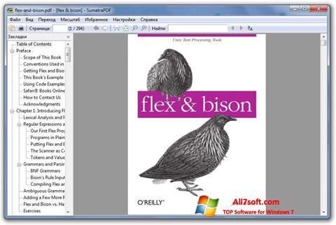 Skjermbilde Sumatra PDF Windows 7
