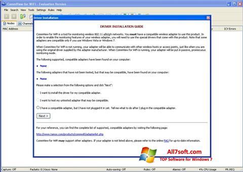 Skjermbilde CommView for WiFi Windows 7