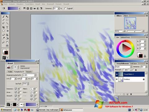Skjermbilde Artweaver Windows 7