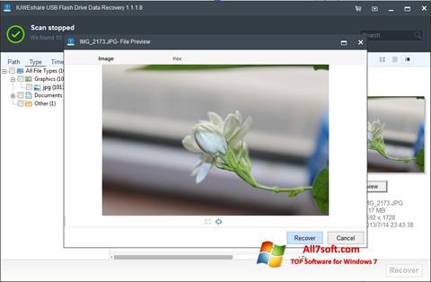 Skjermbilde USB Flash Drive Recovery Windows 7