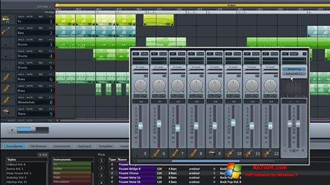 Skjermbilde MAGIX Music Maker Windows 7