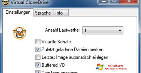 Skjermbilde Virtual CloneDrive Windows 7