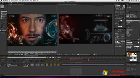Skjermbilde Adobe After Effects Windows 7