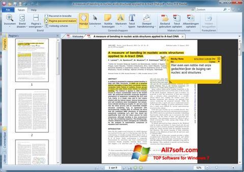 Skjermbilde Nitro PDF Reader Windows 7