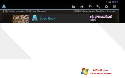 Skjermbilde AlReader Windows 7