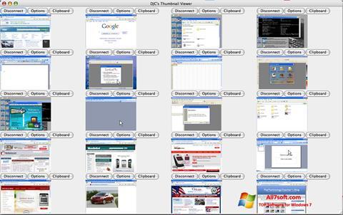 Skjermbilde VNC Viewer Windows 7