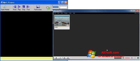 Skjermbilde MP4 Player Windows 7