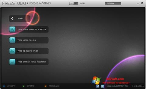 Skjermbilde Free Studio Windows 7