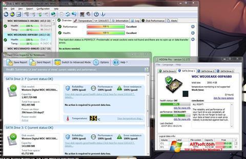 Skjermbilde HDD Health Windows 7
