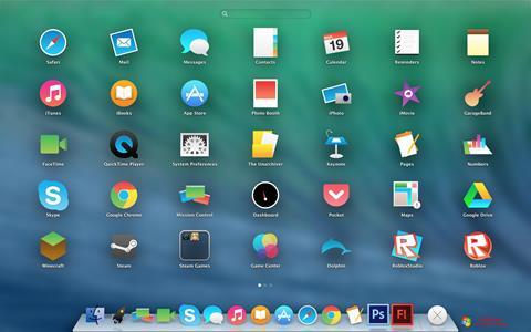 Skjermbilde OS X Flat IconPack Installer Windows 7