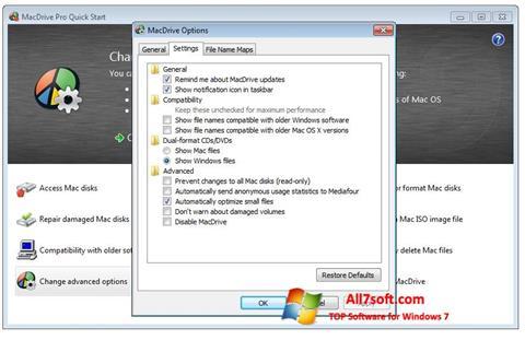 Skjermbilde MacDrive Windows 7