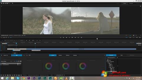 Skjermbilde Adobe SpeedGrade Windows 7