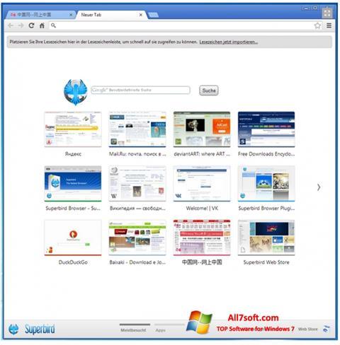 Skjermbilde Superbird Windows 7