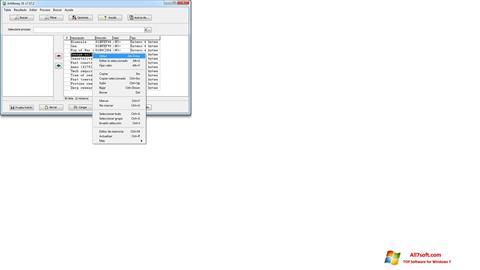 Skjermbilde ArtMoney Pro Windows 7