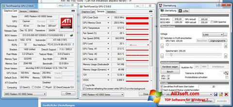 Skjermbilde ATI Tray Tools Windows 7