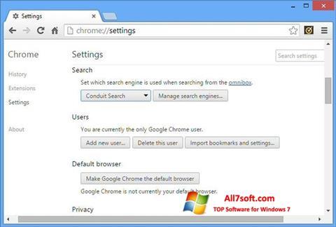 Skjermbilde Chrome Cleanup Tool Windows 7