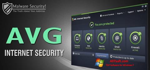 Skjermbilde AVG Internet Security Windows 7