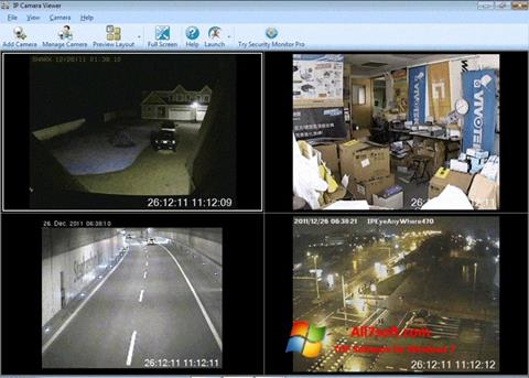Skjermbilde IP Camera Viewer Windows 7