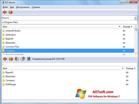 Skjermbilde ISO Master Windows 7