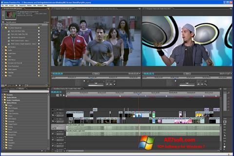 Skjermbilde Adobe Premiere Pro Windows 7