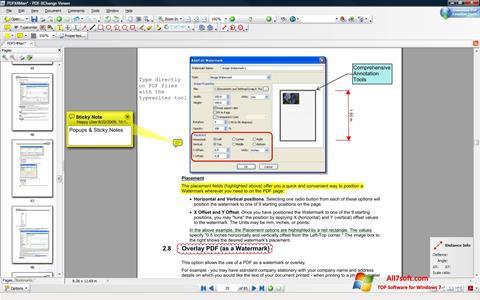 Skjermbilde PDF-XChange Viewer Windows 7