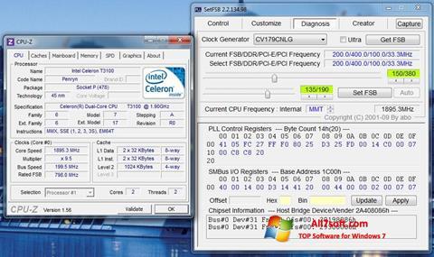 Skjermbilde SetFSB Windows 7