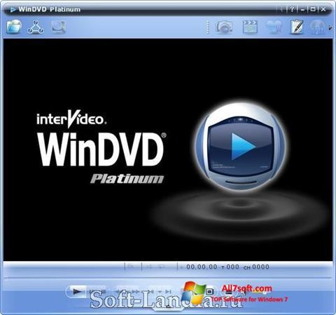 Skjermbilde WinDVD Windows 7
