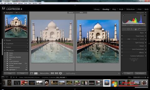 Skjermbilde Adobe Photoshop Lightroom Windows 7
