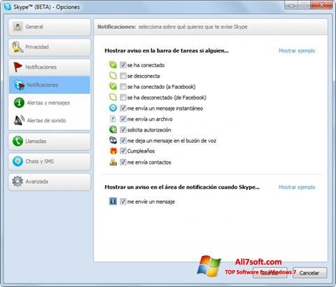 Skjermbilde Skype Beta Windows 7
