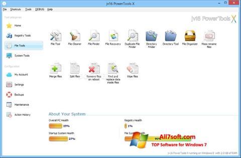 Skjermbilde jv16 PowerTools Windows 7