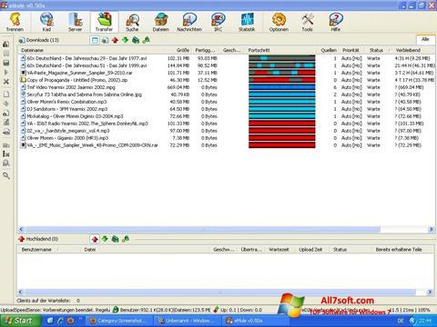 Skjermbilde eMule Windows 7