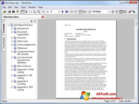 Skjermbilde WinDjView Windows 7