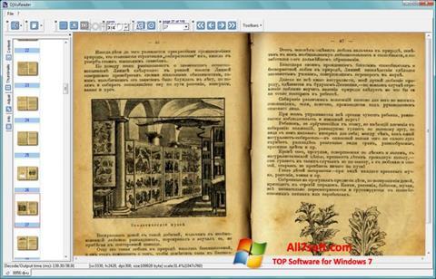 Skjermbilde DjVu Reader Windows 7