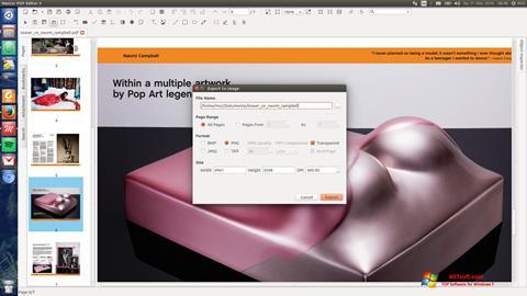 Skjermbilde Master PDF Editor Windows 7