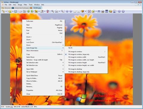 Skjermbilde XnView Windows 7