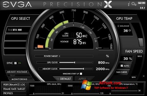 Skjermbilde EVGA Precision X Windows 7