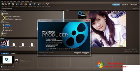 Skjermbilde ProShow Producer Windows 7