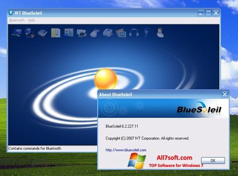 Skjermbilde BlueSoleil Windows 7