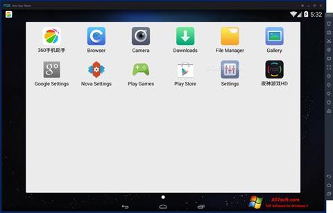 Skjermbilde Nox App Player Windows 7