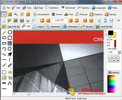 Skjermbilde PDF Reader Windows 7