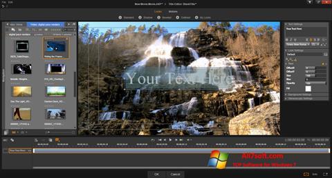 Skjermbilde Pinnacle Studio Windows 7