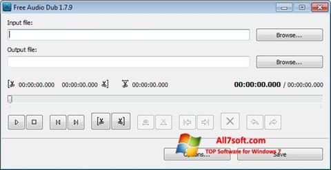 Skjermbilde Free Audio Dub Windows 7