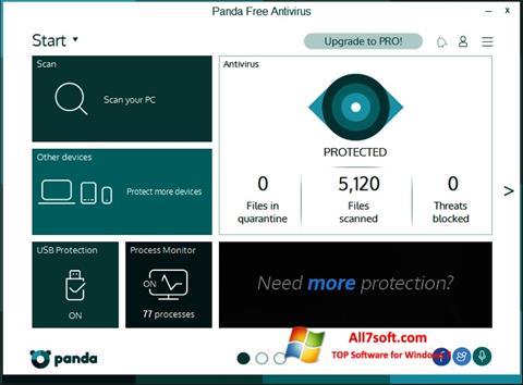 Skjermbilde Panda Windows 7