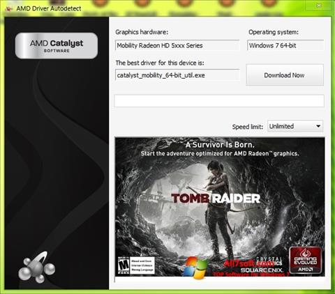 Skjermbilde AMD Driver Autodetect Windows 7